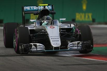 Singapore GP F1 practice: Rosberg fastest as Hamilton struggles