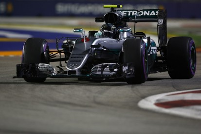 Singapore GP F1 practice: Rosberg fastest, problems for Hamilton