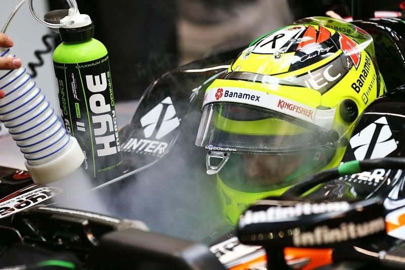 Strange steering trouble baffles Perez in Singapore GP F1 practice
