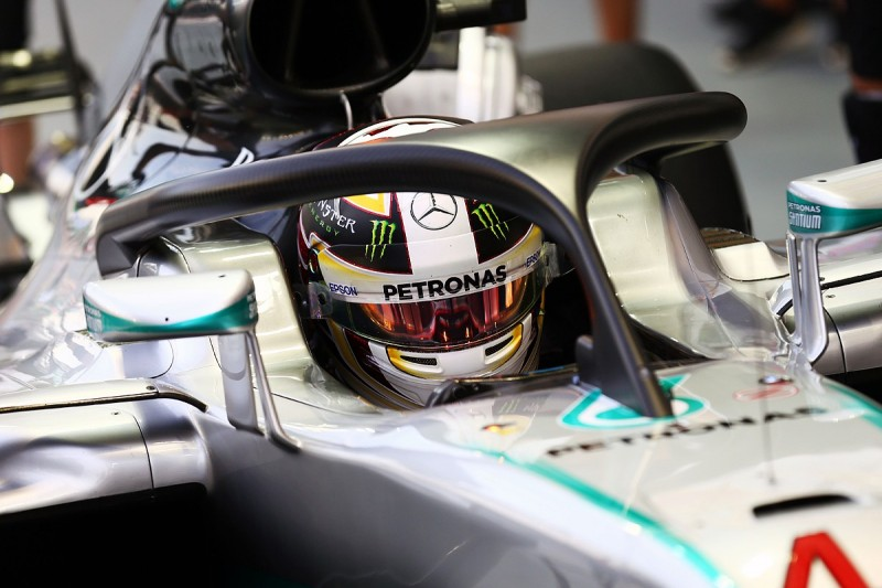 Lewis Hamilton would happily use F1 halo in Singapore Grand Prix