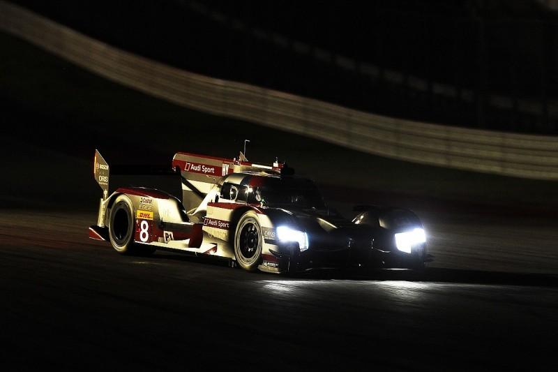 Austin WEC: Loic Duval keeps Audi on top in night practice