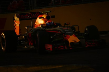 Max Verstappen leads Red Bull one-two in Singapore GP practice