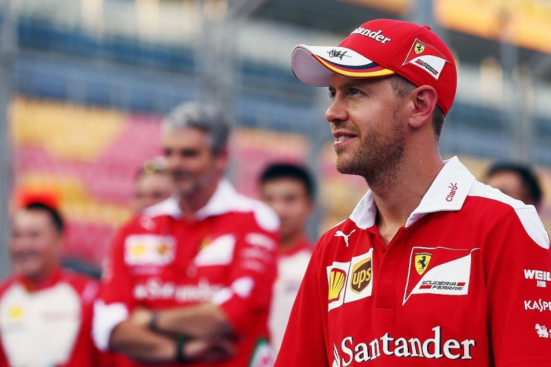 Mercedes still the favourite for F1 Singapore GP - Sebastian Vettel