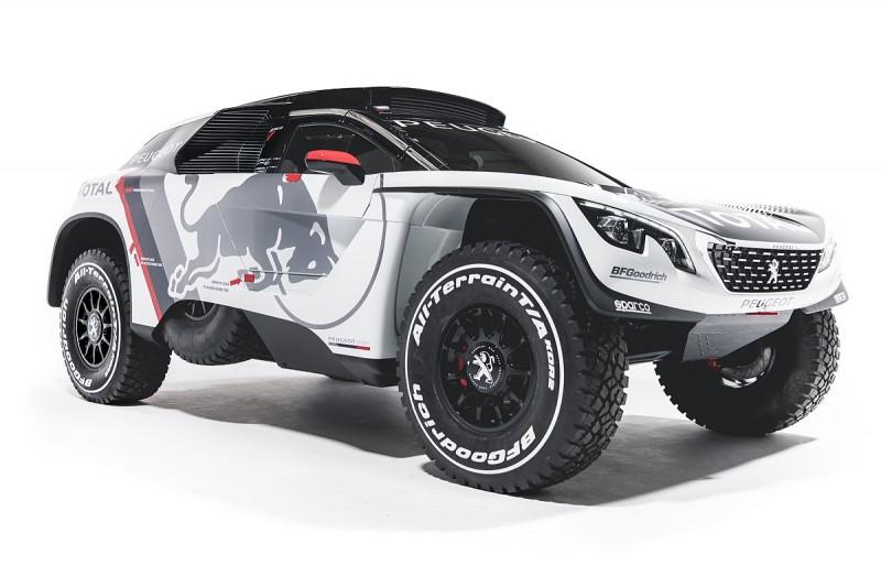 Peugeot unveils new 3008 DKR for 2017 Dakar Rally