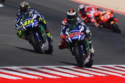 Valentino Rossi and Jorge Lorenzo clash over Misano MotoGP battle