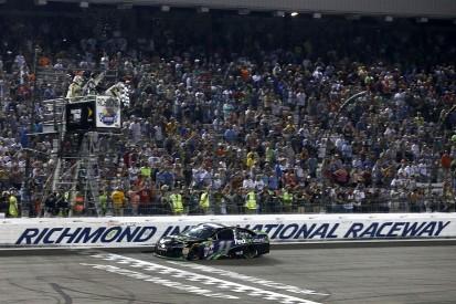 NASCAR Richmond: Denny Hamlin wins wild race as 2016 Chase field set