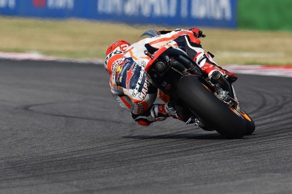 MotoGP Misano: Marc Marquez leads Jorge Lorenzo in FP3