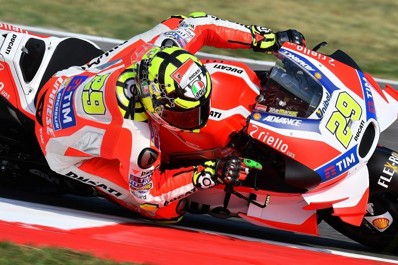 Injured Andrea Iannone wants to race for Ducati at Misano MotoGP