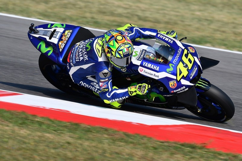 MotoGP Misano: Valentino Rossi fastest in first practice
