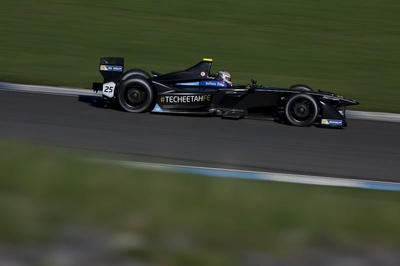 Formula E testing: Vergne outpaces works Renault team for Techeetah