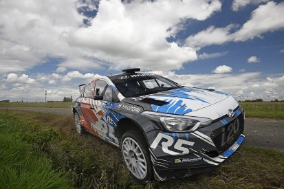 Hyundai R5 car to make competitive debut in WRC2 in Corsica