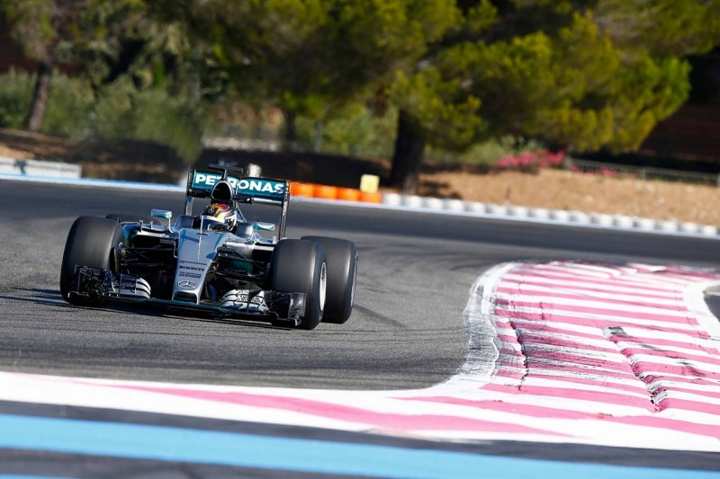 Mercedes runs 2017 Formula 1 spec for the first time at Paul Ricard