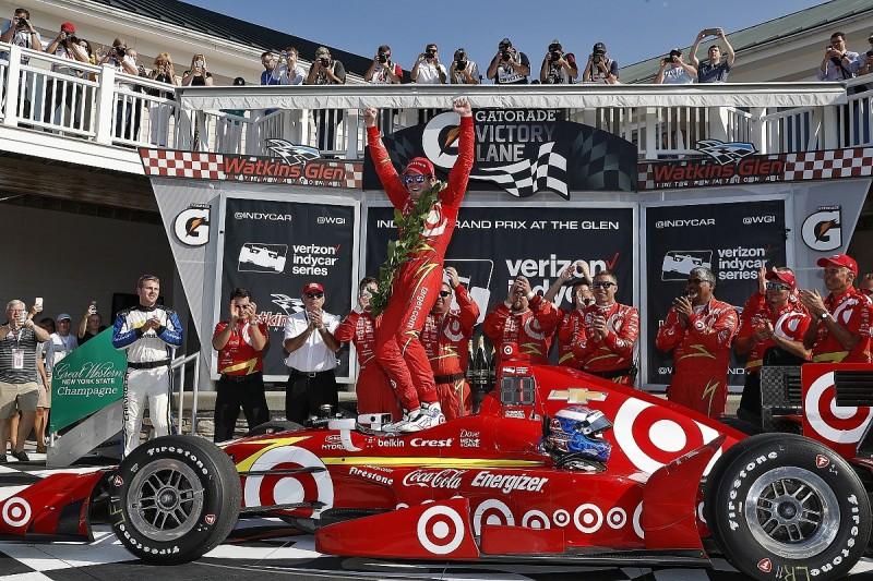 Watkins Glen IndyCar: Dixon wins, Power crash helps Pagenaud