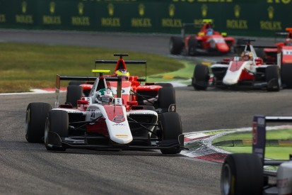 Nirei Fukuzumi punished for taking out GP3 leader Charles Leclerc