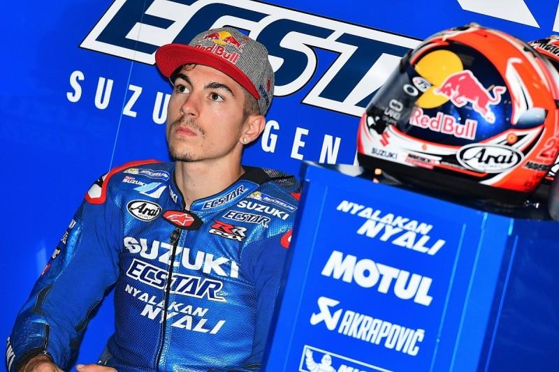 Maverick Vinales accepts he is MotoGP British GP favourite 'on paper'