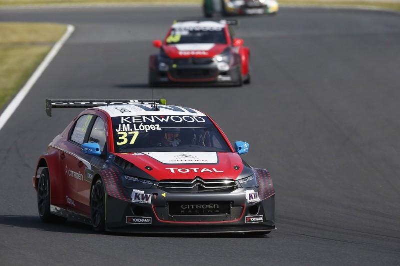 WTCC Japan: Jose Maria Lopez leads Citroen front row for main race