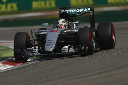 Italian Grand Prix: Lewis Hamilton tops final F1 practice at Monza