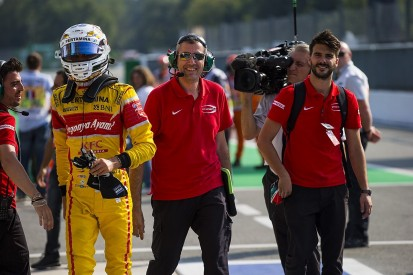 Antonio Giovinazzi, Nabil Jeffri excluded from Monza GP2 qualifying