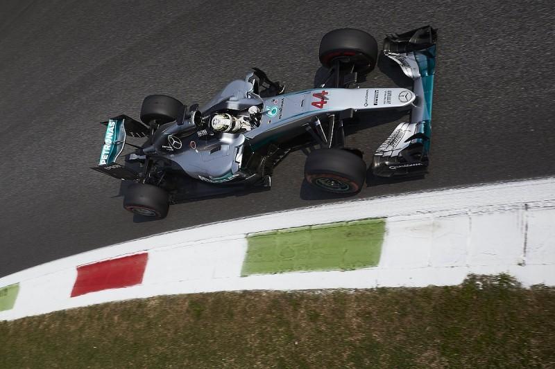 Lewis Hamilton sets Italian Grand Prix Friday F1 practice pace
