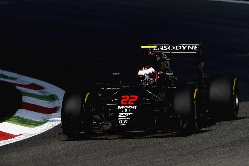 McLaren F1 drivers Button and Alonso split on Italian GP Q3 chances