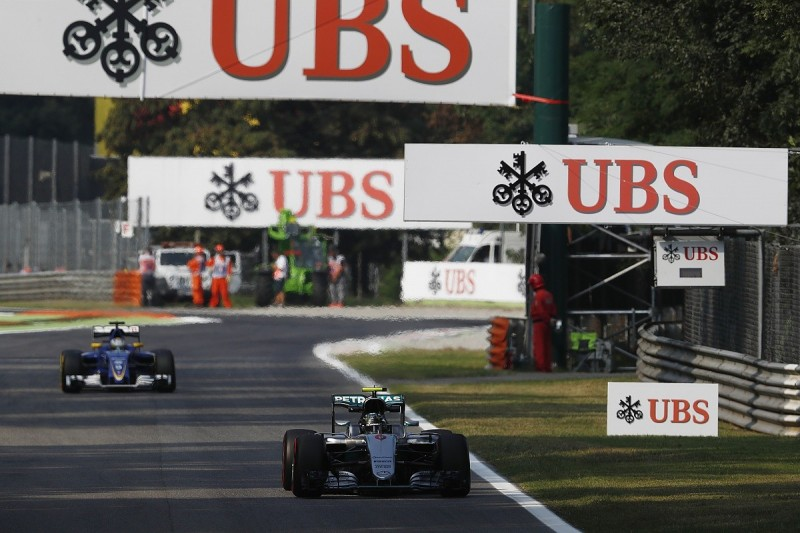Italian GP: Nico Rosberg leads Mercedes one-two in first practice
