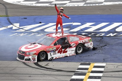 """New Sprint Cup winner Larson can be Ganassi's NASCAR """"foundation"""""""