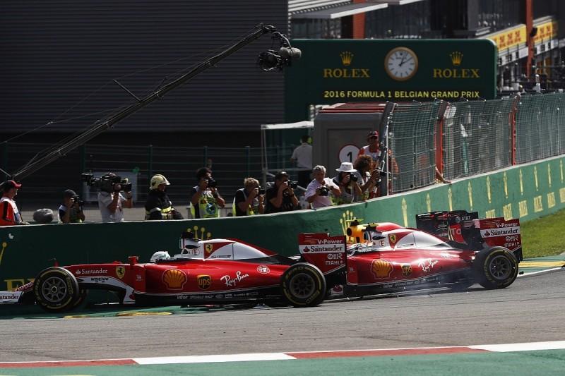 Ferrari had pace for double podium before Verstappen clash - Vettel