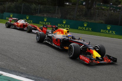 Max Verstappen says he was the victim in clash with Ferraris at Spa