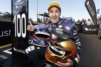 Jamie Whincup reaches milestone 100th Supercars race win