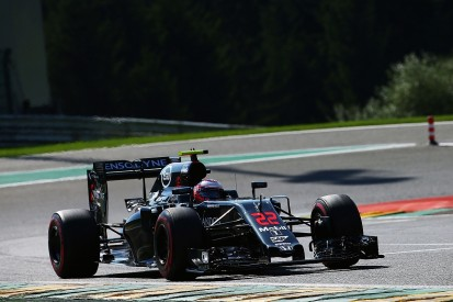 Jenson Button 'ecstatic' with ninth place in Belgian GP qualifying