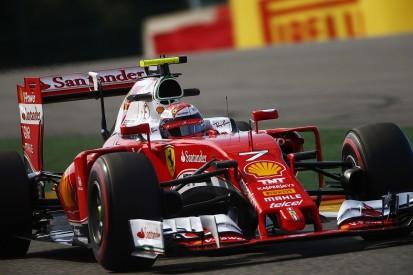 Belgian GP practice not much fun for Ferrari - Kimi Raikkonen