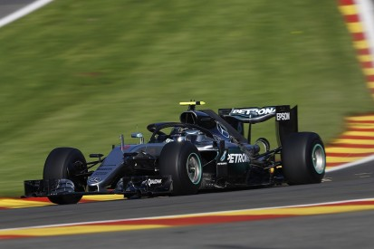 Belgian GP: Mercedes' Rosberg fastest in FP1 with halo fitted