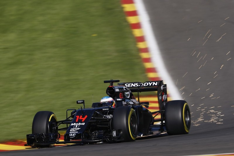 Belgian GP: McLaren-Honda's Alonso hit with 35-place grid penalty