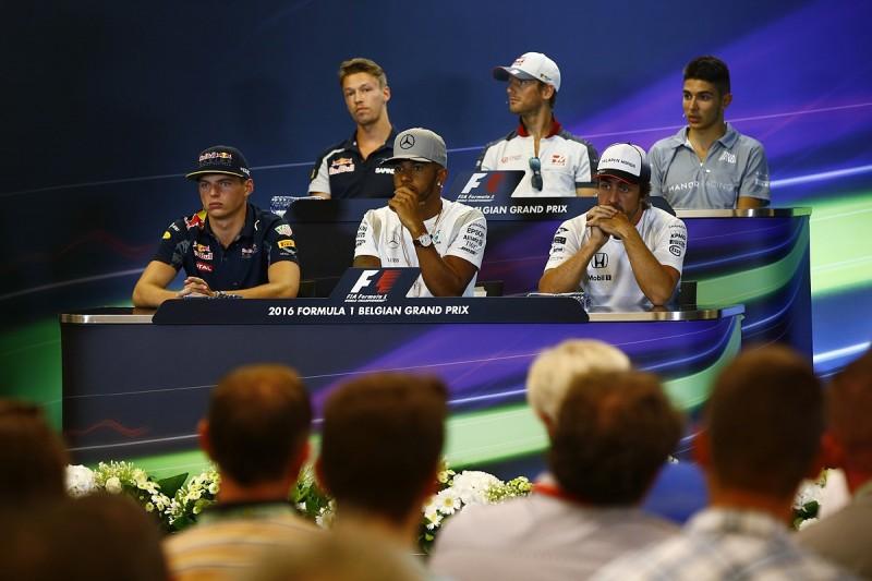 Belgian Grand Prix Thursday F1 press conference full transcript