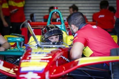 Donington Park Formula E test: Daniel Abt fastest as rain hits