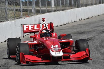 Formula E and DTM driver Rosenqvist finishes Indy Lights season
