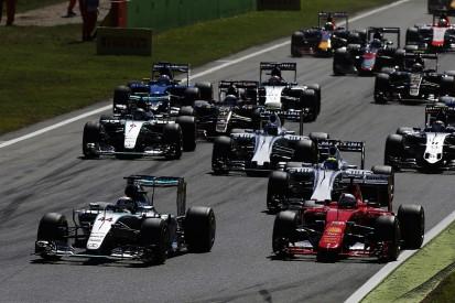 Six sets of F1 team-mates split on Italian Grand Prix tyre strategy