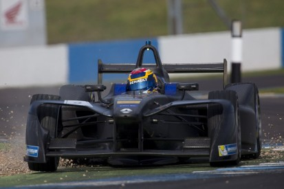 Sebastien Buemi fastest in first Formula E test at Donington Park