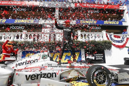 IndyCar Pocono: Will Power closes on points lead with victory