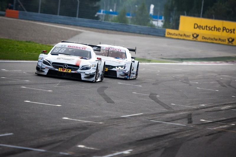 DTM title contender Wickens hits out at Tomczyk over collision