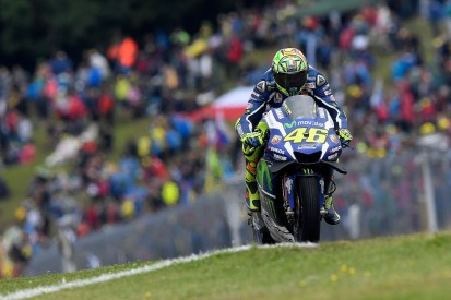 MotoGP Brno: Valentino Rossi says early stages 'a nightmare'