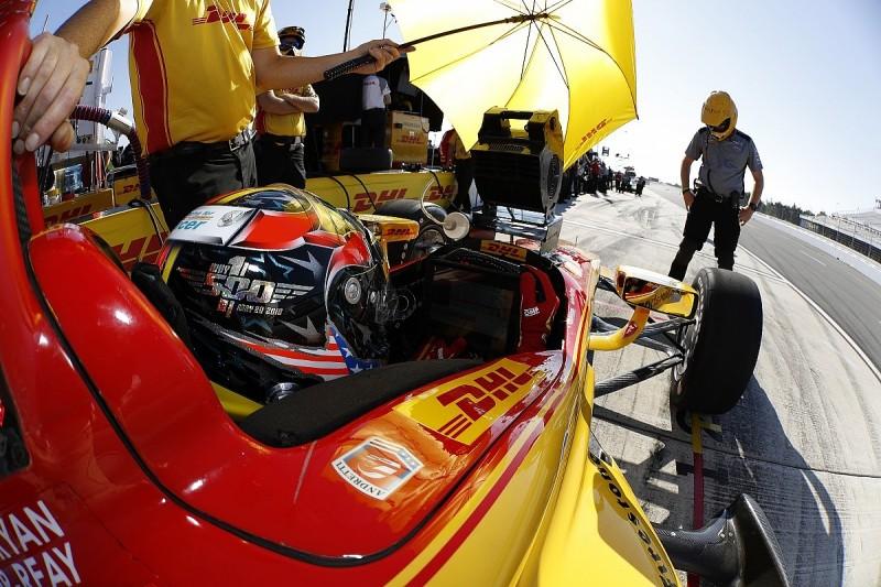 Ryan Hunter-Reay, Juan Pablo Montoya explain Pocono IndyCar crashes