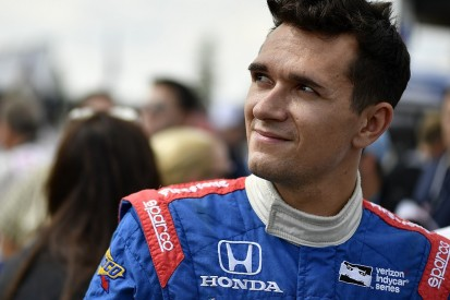 Pocono IndyCar pole highlights Russian Aleshin's rise in America