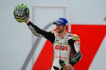 Brno MotoGP: Cal Crutchlow becomes first British winner since 1981