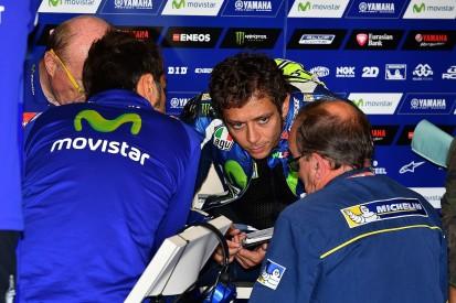 Valentino Rossi: Brno MotoGP qualifying traffic like central Rome