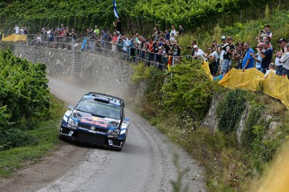 Sebastien Ogier charges clear in WRC Rally Germany lead