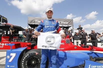 Mikhail Aleshin claims maiden IndyCar pole at Pocono