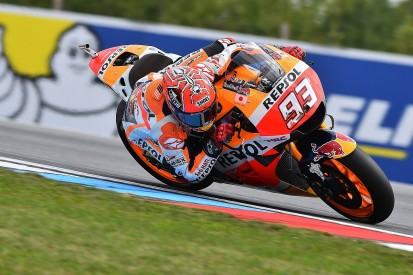 MotoGP Brno: Marc Marquez beats Andrea Iannone to top FP2