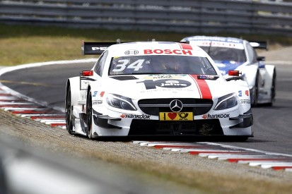 Manor F1 driver Ocon 'sad' not to finish DTM campaign with Mercedes