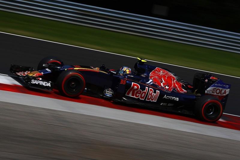 Toro Rosso's lack of F1 engine power making me better, Sainz feels